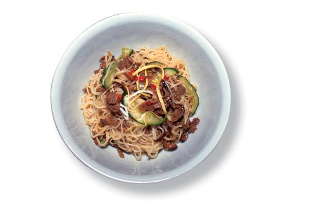 Buckwheat Noodles with Seasoning